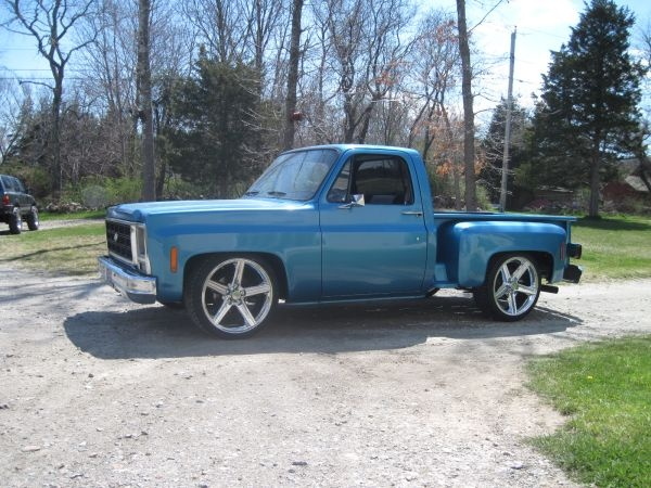 79 Chevy 454 C-10 pickup | Trucks & Four Wheel Drives | Pinterest ...