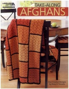 Take-Along Afghans presents 5 versatile and stylish crocheted afghans by designer Rena V. Stevens. Wonderfully warm and so thoughtful as gifts, each appealing throw is created in sections (as repeatin