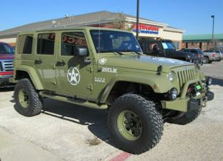 Military Themed Jeep Jk Unlimited Jeeps Used Jeep