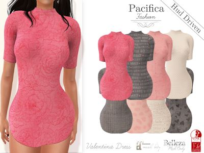 Visit the store Pacifica Fashion inworld in Second Life! Feel fabulous, feel feminine, enhance your beauty in your Virtual Life