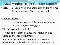 the kite runner relationship and symbolism Edward hower reviews book the kite runner by khaled hosseini (m) the fragility of this relationship, symbolized by the kites the boys fly together.