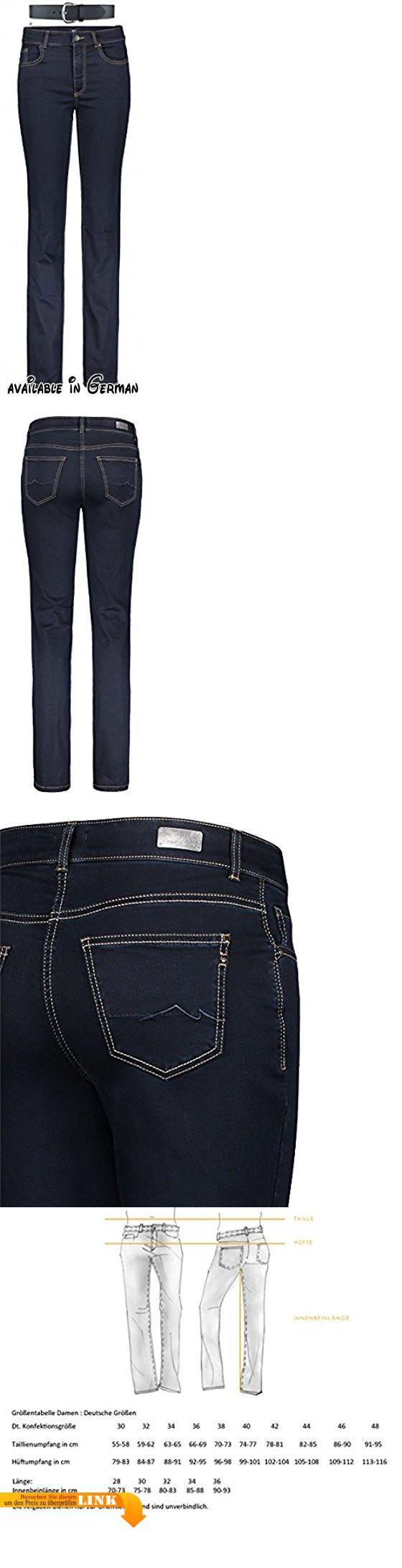MAC Melanie Damen Jeans Hose 0380l504087 & draussen-aktiv.com Ledergürtel ., Farbe:D801;Größe:W44/L28. exzellente Passform, kein Leiern. authentisch, modische Waschungen. liebevoll gestaltete Details. feminine Weite, weit an Oberschenkel und Po. gerades Bein, bequeme Taille #Apparel #PANTS