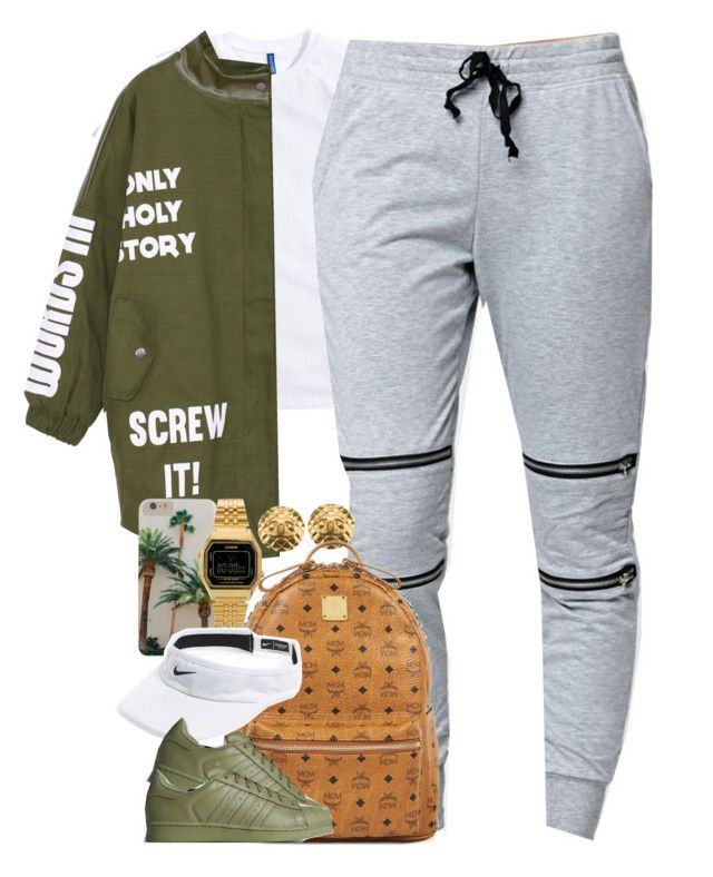 """""""Untitled #1454"""" by power-beauty ❤ liked on Polyvore featuring мода, LA: Hearts, Chanel, MCM, Casio и NIKE"""