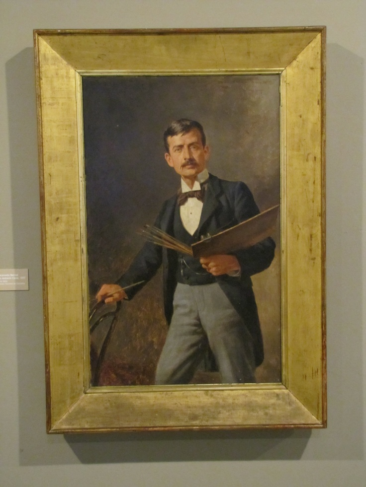 Portrait of F.A. CANO By painter Ricardo Acebedo Bernal coleccion of the Museo Nacional De Colombia