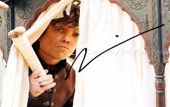 Game Of Thrones Autographs PETER DINKLAGE as Tyrion Lannister - Game Of Thrones GENUINE AUTOGRAPH No description (Barcode EAN = 0616909012046). http://www.comparestoreprices.co.uk/celebrity-autographs/game-of-thrones-autographs-peter-dinklage-as-tyrion-lannister--game-of-thrones-genuine-autograph.asp