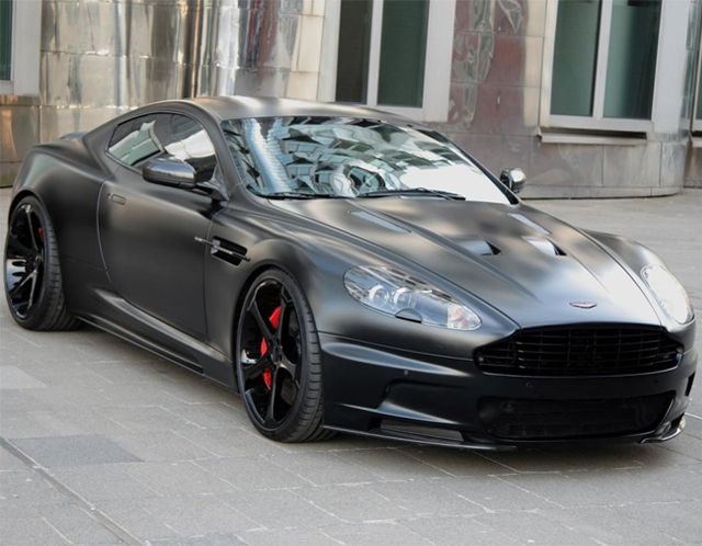 On any other car, this could  be seen as somewhat ghetto. But the Aston Martin pulls it off. Thoughts?    Aston Martin DBS Superior Black Edition