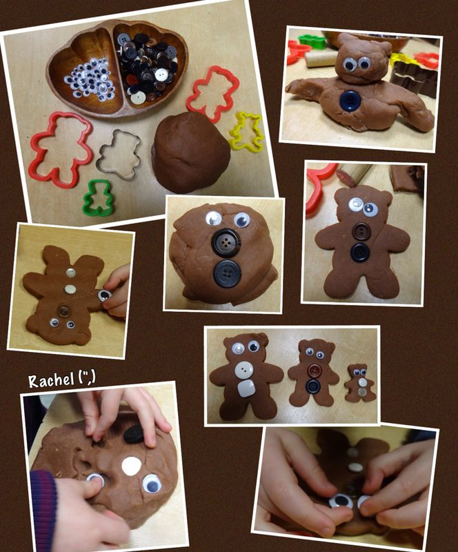 "Bear dough from Rachel ("",)"