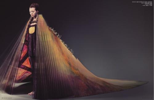 AnOther Magazine S/S 2007 Fashion by Issey Miyake by Naoki Takizawa, Photography by Richard Burbridge