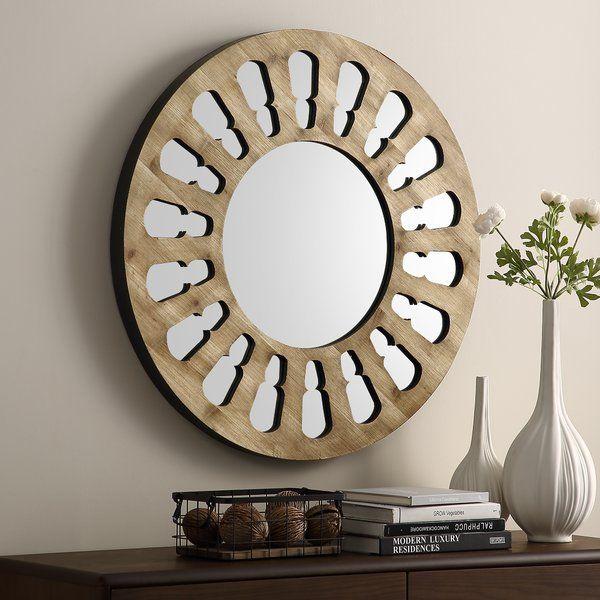Estevao Accent Mirror Mirror Wall Farmhouse Wall Mirrors Accent Mirrors
