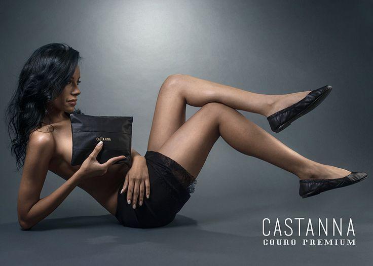 Castanna Coleção Couro Premium! www.castanna.com.br