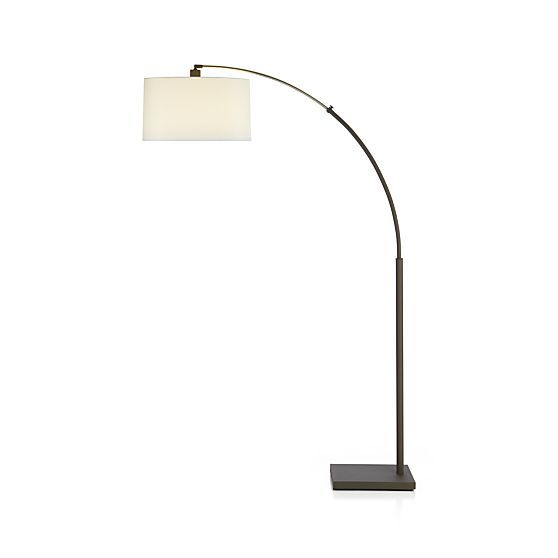 17 best images about home lighting on pinterest drum for Dexter arc floor lamp with white shade