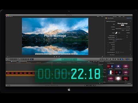 FCP X Timecode Window - YouTube