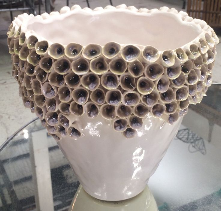 Shell Vase, ceramic....as individual as you are. From Le Forge Furniture And Decoration in Sydney. We ship Australia and worldwide