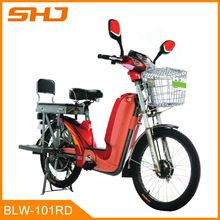 500W Pedal Assistant Electric Bicycle-Long Range Ebike with 48V12Ah Lead Acid Battery