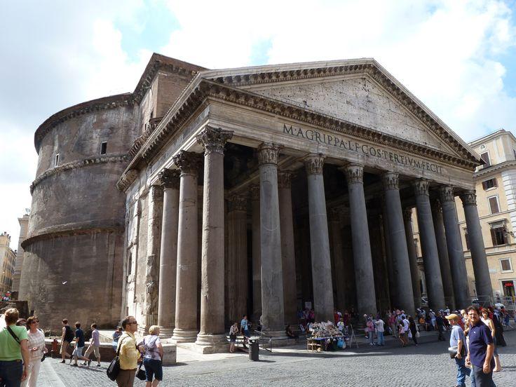 Gallery Of Ad Classics Roman Pantheon Roberto Luna