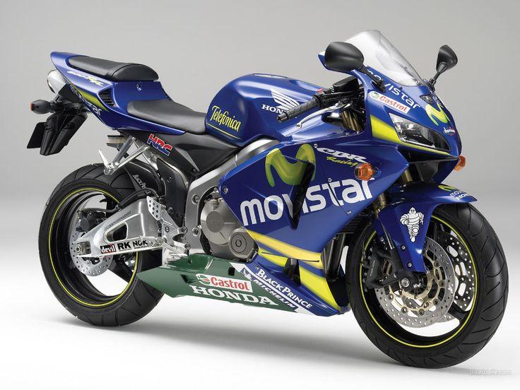 2006 Honda CBR600RR Movistar #1