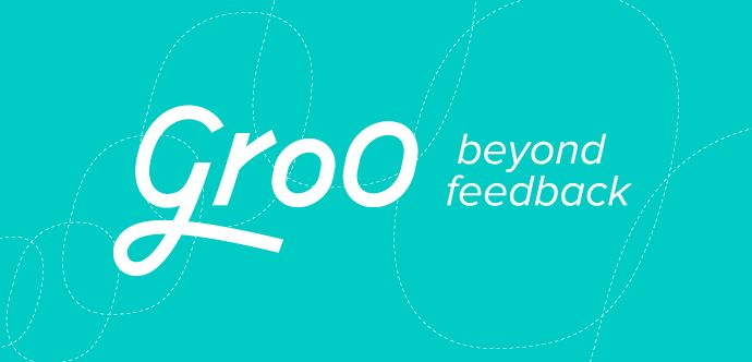 groo, visual identity / logo design, by daily milk