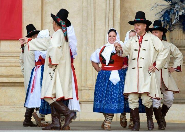Moravia: Valašsko Folk Costumes.