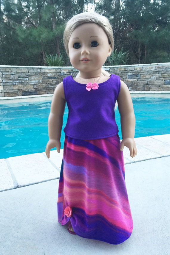 American Girl Clothes 18 Inch Doll Clothes by LivingCoastalDesign
