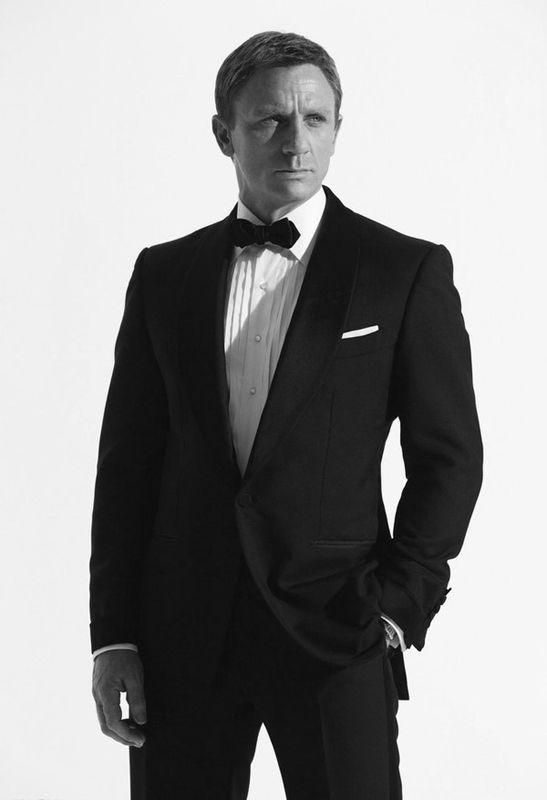 #DanielCraig aka #JamesBond -- #BowTie