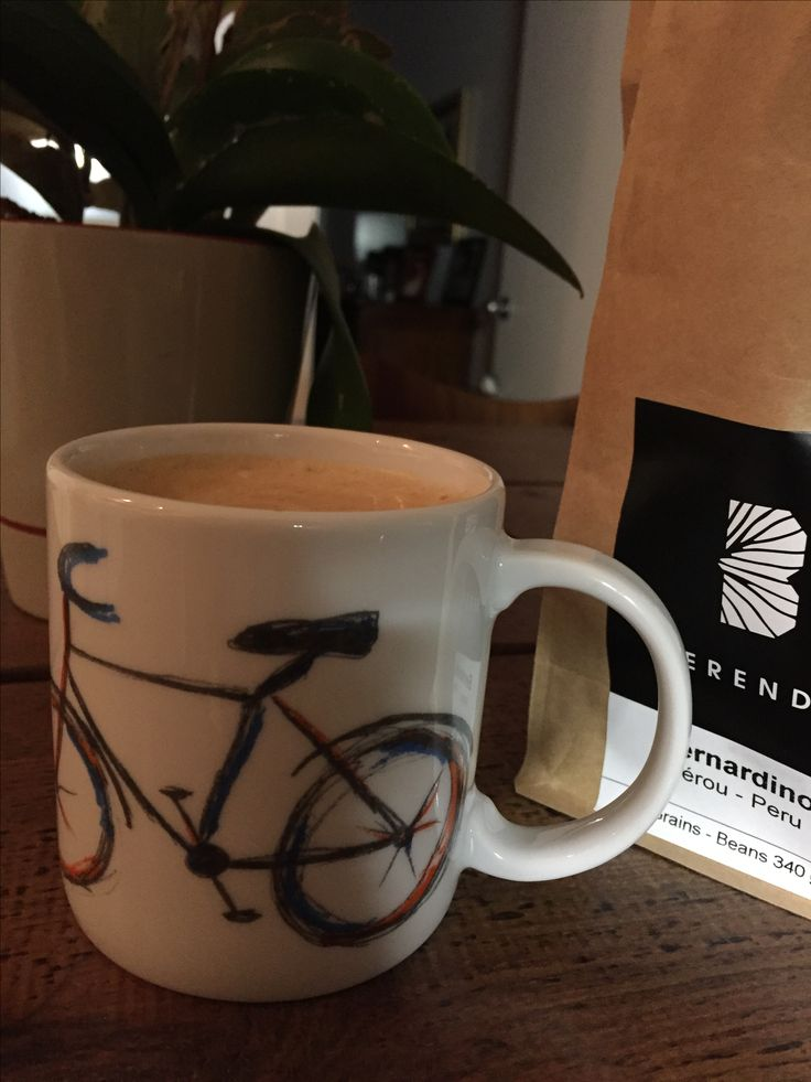 Great coffee this morning and getting ready for a great bike ride on a nice September fall day #Berendo #coffee #automn #Thursdaymorning