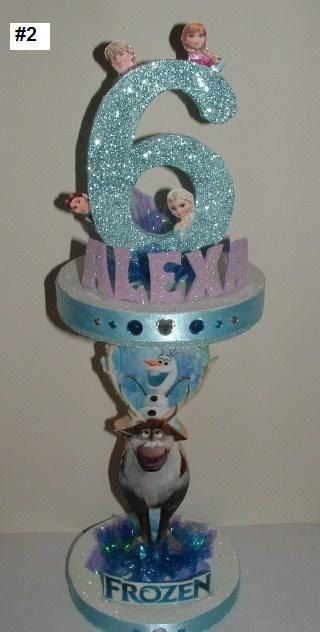 Hey, I found this really awesome Etsy listing at https://www.etsy.com/listing/180079115/frozen-centerpiece-disneys-frozen-movie