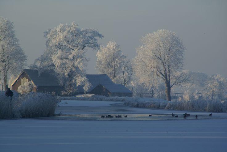 Noord Aa nabij het bruggetje bij 't Geertje (kinderboerderij).