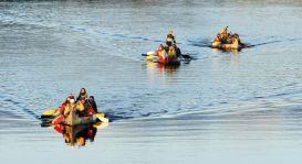 Activités de kayak, canot, radeau pneumatique et plongée en apnée sur la rivière Bonaventure. Camping avec piscine, nuitées insolites, éco-logis et tipis.