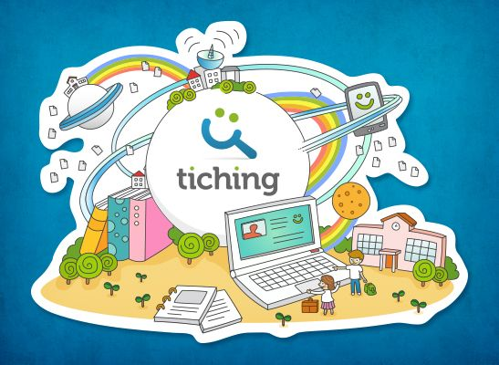 Compartir contenidos digitales educativos #tiching