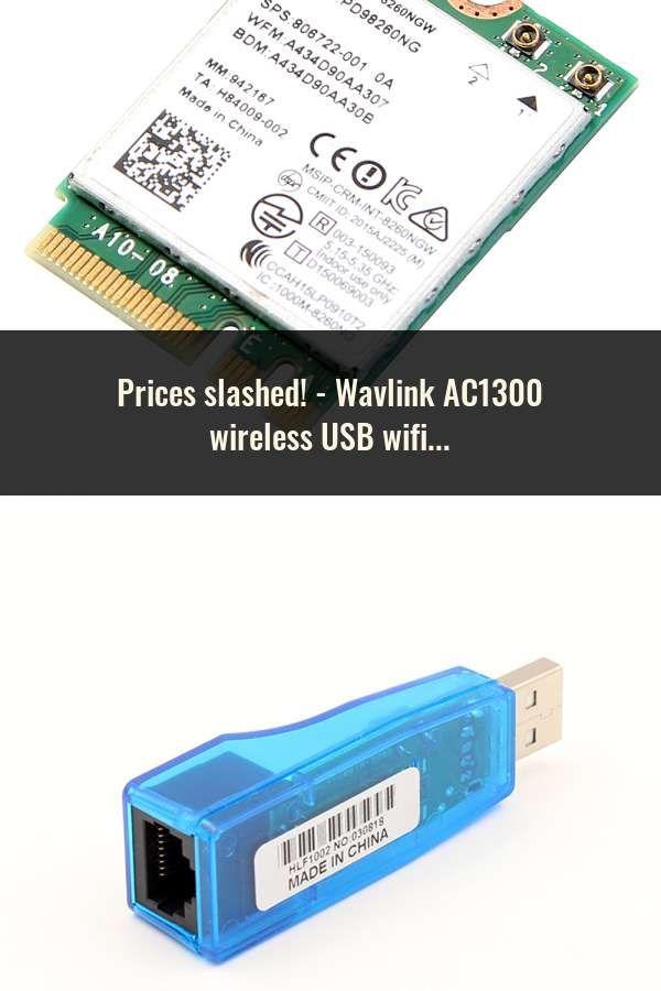 Wavlink AC1300 wireless USB wifi adapter 5GHz &2 4GHz Dual Band USB