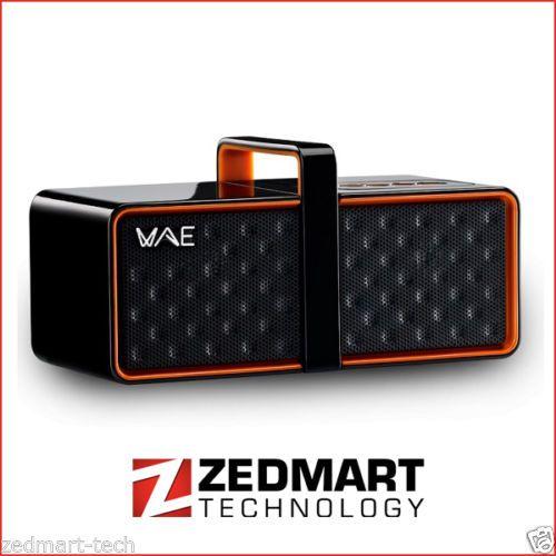 Thrustmaster-Hercules-Black-Orange-WAE-BTP03-Mini-Portable-Bluetooth-Speaker