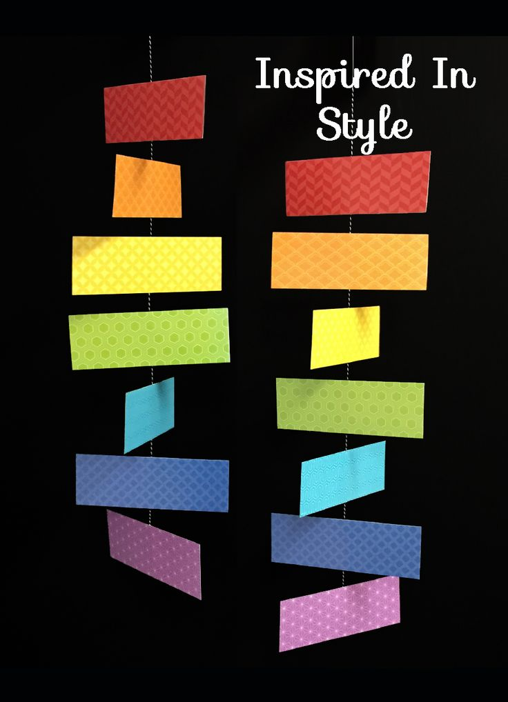 Classroom Mobiles Ideas : Best painted palette classroom decor by creative