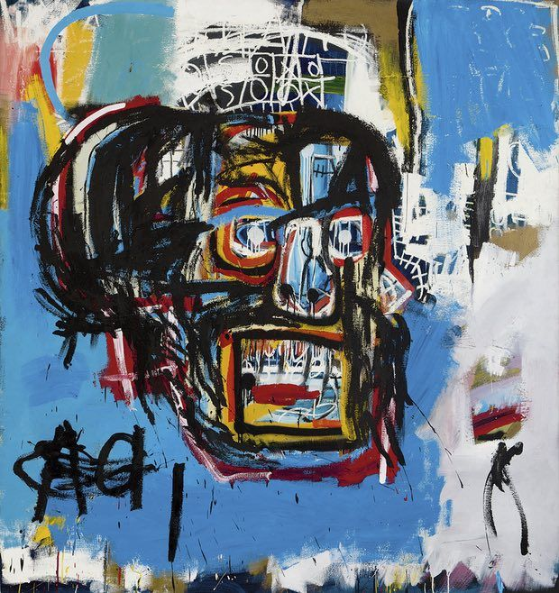 Untitled (1982), by Jean-Michel Basquiat.