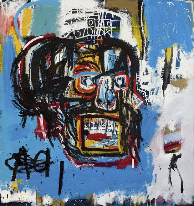 Untitled (1982), by Jean-Michel Basquiat.