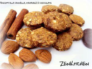 Biscotti+alla+cannella,+mandorle+e+cioccolato