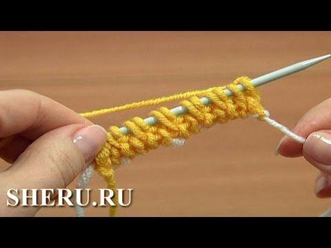 Нормандский набор петель с зубчиками - YouTube
