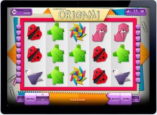 Играть в онлайн казино на деньги рубли Origami.  Увлекаетесь древнекитайским искусством создавать из бумаги разные фигурки животных, цветов и других, более известным как — оригами? Тогда вам понравится новый яркий игровой автомат с одноименным названием Origami от ра