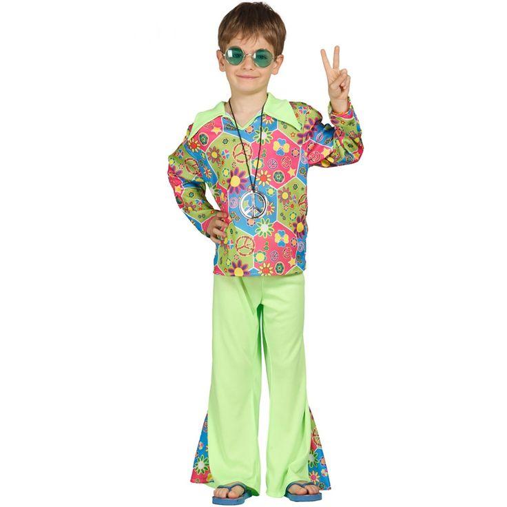 Disfraz Niño Hippie - Comprar Online {Miles de Fiestas}