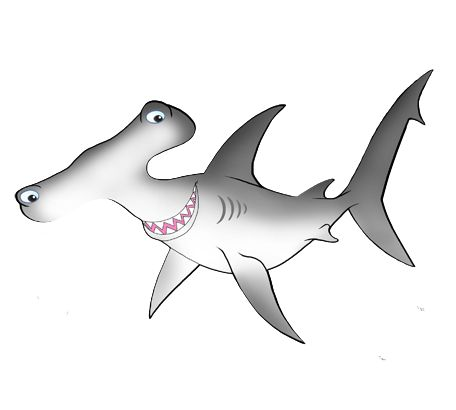 Sharks4Kids.com is a great source of shark information.