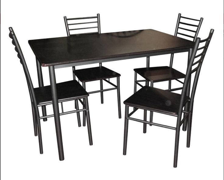 Contemporary Dark Grey 5 Piece Dining Set  Our Price   99 99 62 best Wining and Dining images on Pinterest   Dining sets  . Glass Dining Table With 4 Chairs Price. Home Design Ideas