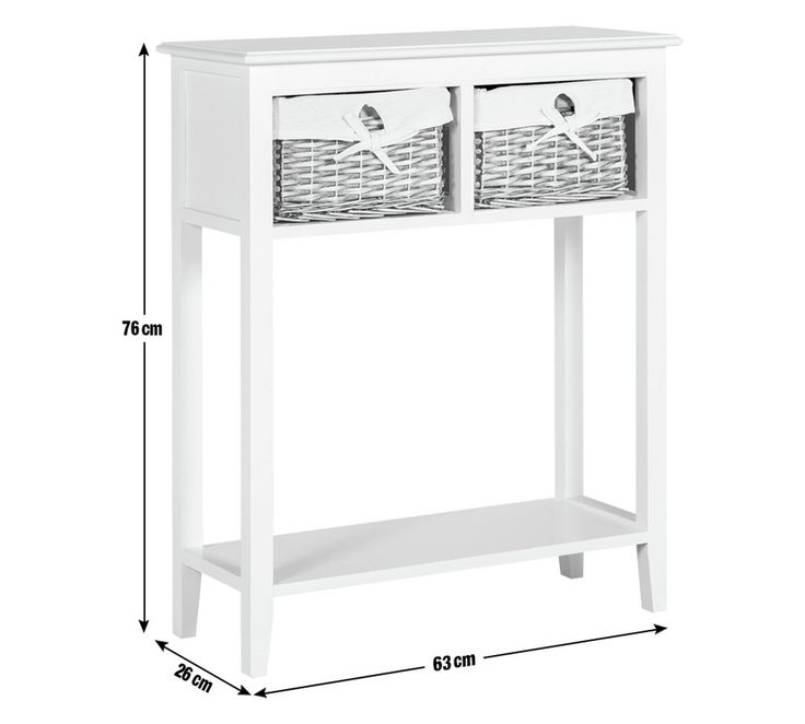 Buy Collection New Malvern Console Table - White at Argos.co.uk, visit Argos.co.uk to shop online for Hallway storage, Hallway furniture, Home and garden