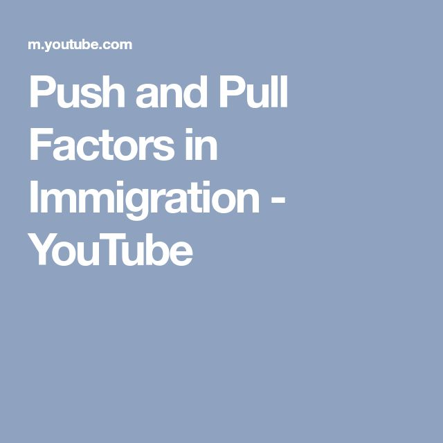 social economic and political push and pull factors that effects the japanese immigration A number of social scientists have examined immigration from a sociological perspective,  push and pull factors push factors are things that are unfavourable about the area that one lives in, and pull factors are things that attract one to another area  at the same time turkey's political, social and economic conditions have been.