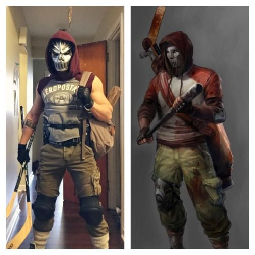 GEEKLY »  » 4 Sexy Photos of Michael Hamm as Casey Jones From TMNT
