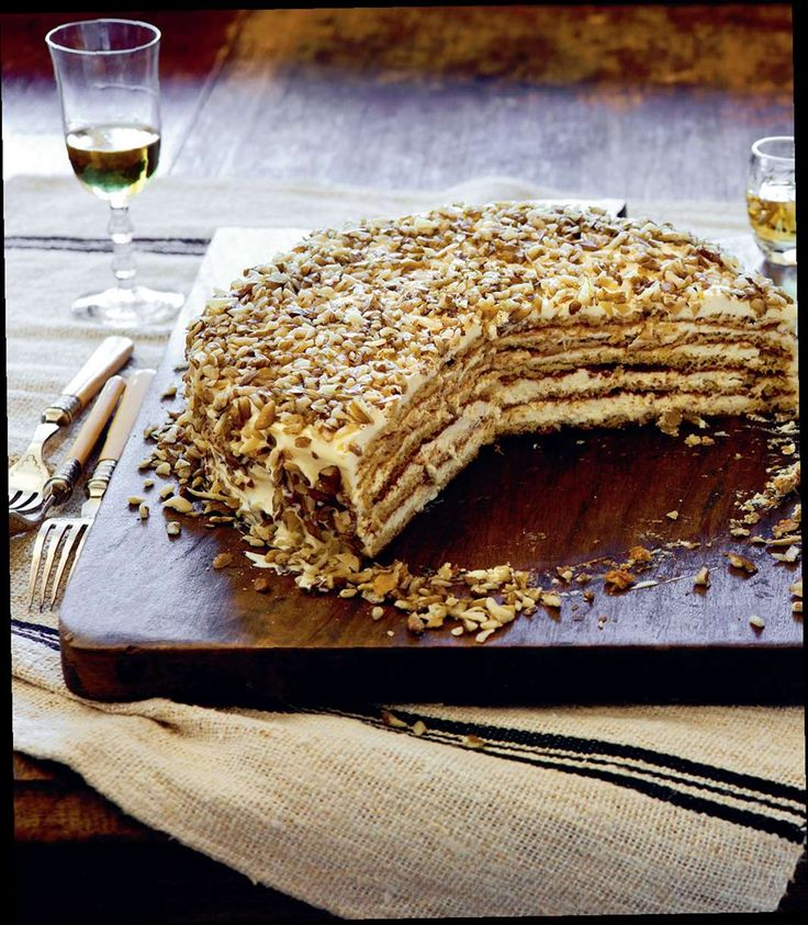 Russian honey cake by Benny Roff from Borsch, Vodka and Tears | Cooked