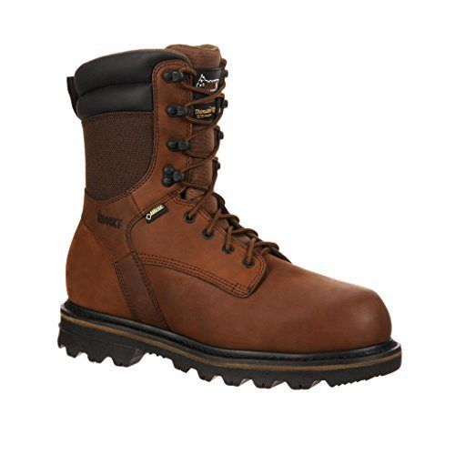 "Rocky Men's CornStalker 9"" Insulated Composite Toe Gore-Tex Boot Brown Leather 9.5 W US - http://authenticboots.com/rocky-mens-cornstalker-9-insulated-composite-toe-gore-tex-boot-brown-leather-9-5-w-us/"
