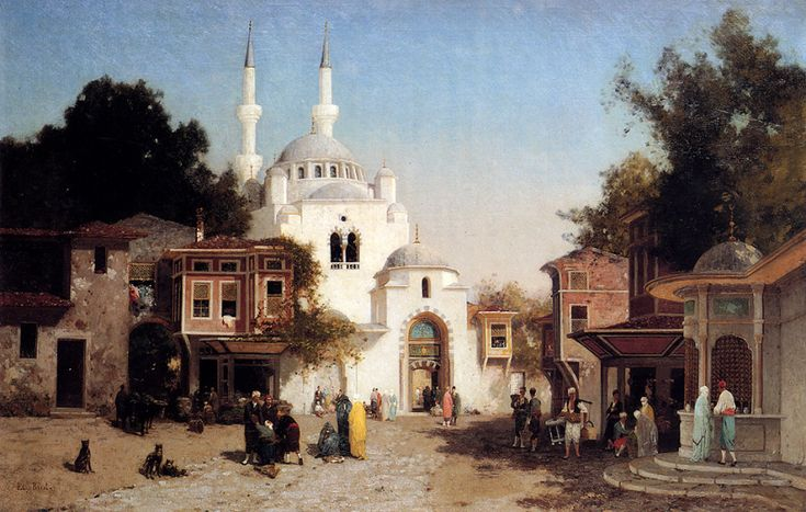 Brest Germain Fabius - Outside The Mosque