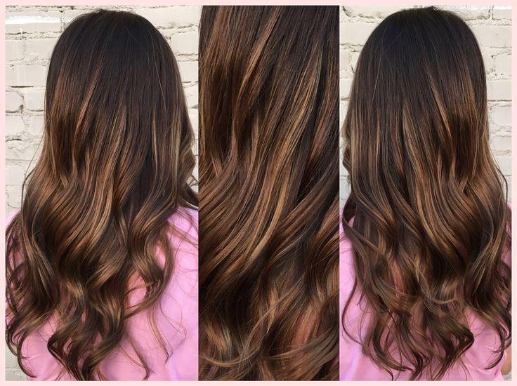 Carmel Balayage by Amanda Warren hair