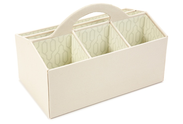 Storage Caddy, Cream on One Kings Lane today