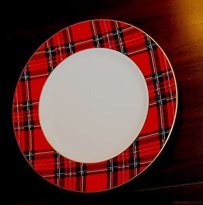 Ralph Lauren Home Bone China Red Tartan Salad Plate & 178 best Tartan and plaid dishes images on Pinterest | Christmas ...