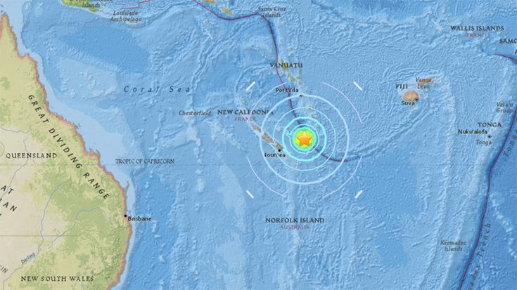 11/19/2017 - Tsunami waves have been observed after a magnitude 7.0 earthquake struck in the Pacific near the French territory of New Caledonia.